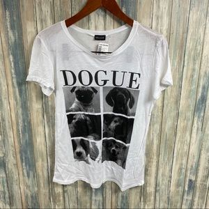 Love Culture Graphic Dog Top Shirt sz M NEW # S194